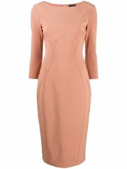 Elisabetta Franchi платье мини с вытачками AB03806E2