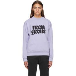 Noon Goons Purple Fleece Knight Sweatshirt NGFW20-068