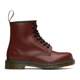 Dr. Martens Red 1460 Smooth Lace-Up Boots 11822600