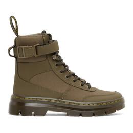 Dr. Martens Green Combs Tech Nylon Boots 25216355