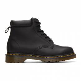 Dr. Martens Black Greasy 939 Ben Lace-Up Boots 24258001