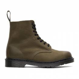 Dr. Martens Green Made In England 1460 Pascal Boots 25574305