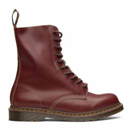 Dr. Martens Red Made In England Vintage 1490 Boots 12309601