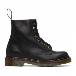 Dr. Martens Black Made In England 1460 Lace-Up Boots 24846001