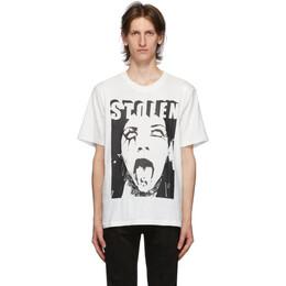 Stolen Girlfriends Club White Ministry T-Shirt C2-20T001W-H