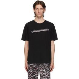 Stolen Girlfriends Club Black Stolen Block T-Shirt C2-20T001B-C-SS
