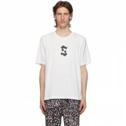Stolen Girlfriends Club White Painted S T-Shirt C2-20T001W-G