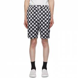 Stolen Girlfriends Club Black and White Cross Town Shorts C2-20397