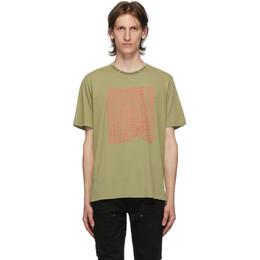 Stolen Girlfriends Club Green Stolen Warp T-Shirt C2-20T001P-E