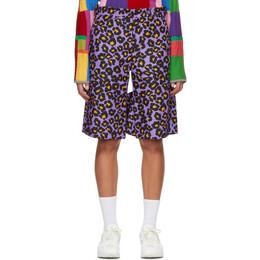 Comme Des Garcons Homme Plus Purple Animal Shorts PF-P008-051