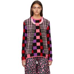 Comme Des Garcons Homme Plus Multicolor Mix Print Sweater PF-N004-051