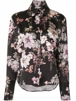 Adam Lippes рубашка с цветочным принтом F20126PD