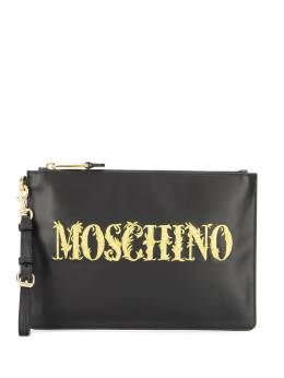 Moschino клатч с логотипом A84258001