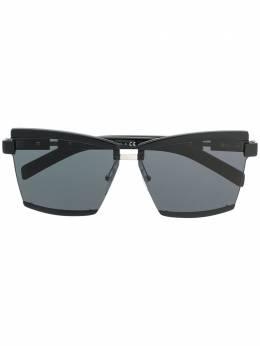 Prada Eyewear солнцезащитные очки в квадратной оправе 0PR61XS