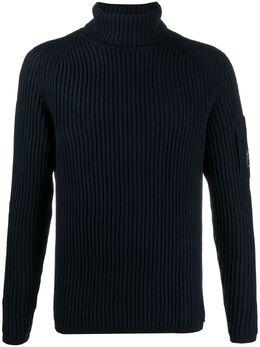 C.P. Company свитер с нашивкой-логотипом 09CMKN222A005292A