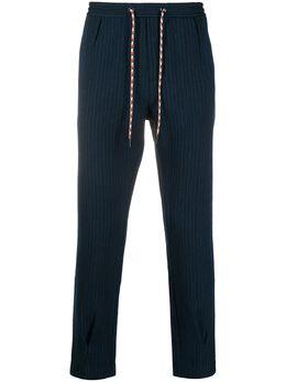 Viktor & Rolf полосатые брюки свободного кроя MMP03183002BLUEBLACK
