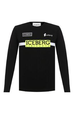 Хлопковый лонгслив Iceberg 20I I1P0/F041/6301