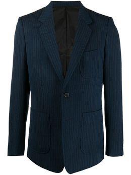 Viktor & Rolf однобортный пиджак в полоску MMB03L59024BLUEBLACK