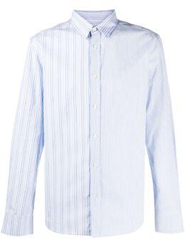 Viktor & Rolf полосатая рубашка с длинными рукавами MMSH03ST9183LIGHTBLUE