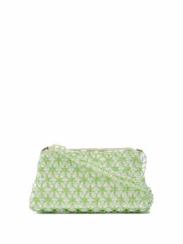 Shrimps Dabba tote bag DABBASMOKEGREEN14SH