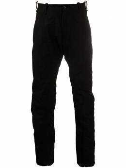 Masnada прямые брюки с контрастной строчкой M2518