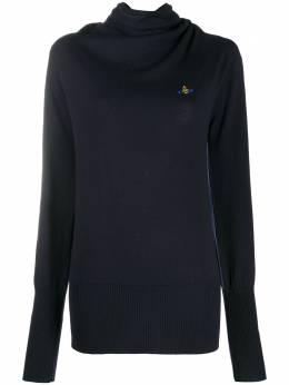 Vivienne Westwood Anglomania джемпер с высоким воротником 84082504750