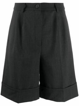 Semicouture шорты строгого кроя с завышенной талией Y0WL05