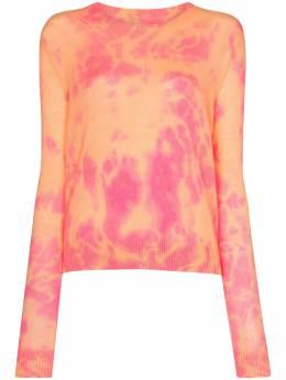 The Elder Statesman укороченный кашемировый свитер Hot Tranquillity 200233