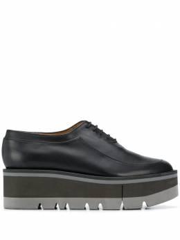 Clergerie туфли Brew на платформе со шнуровкой BREW