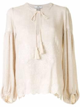 We Are Kindred жаккардовая блузка с завязками KIN1515