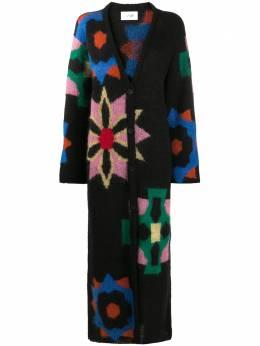 Kirin пальто-кардиган с цветочным узором KWHB004F20KNI0011087