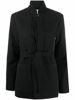Stephan Schneider приталенная куртка с поясом AW204360
