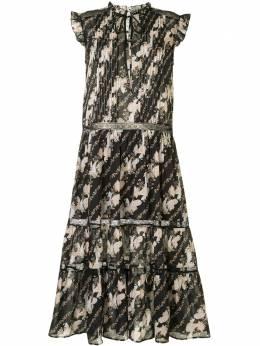 We Are Kindred ярусное платье миди Bronte KIN1670B