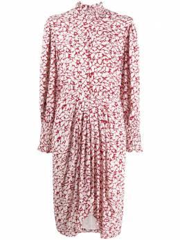 Isabel Marant Etoile платье миди Siloe с принтом RO176520A044E