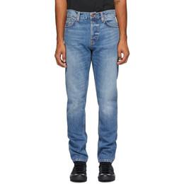 Nudie Jeans Blue Steady Eddie II Jeans 113483