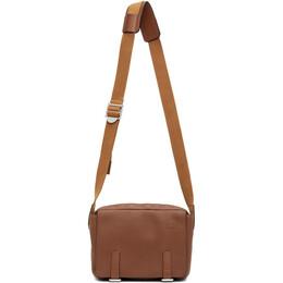 Loewe Brown Military Messenger Bag 317.12AA72