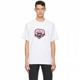 Noon Goons White Heart Match T-Shirt NGFW20-074