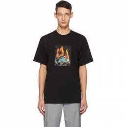 Noon Goons Black Fire Ice T-Shirt NGFW20-070