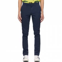 Lacoste Navy Chino Trousers HH9553-52