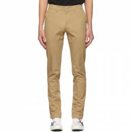 Lacoste Tan Chino Trousers HH9553-52