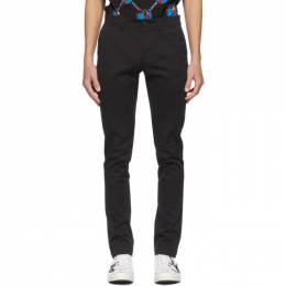 Lacoste Black Chino Trousers HH9553-52