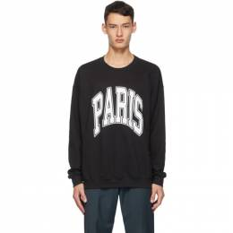 Noon Goons Black All City Paris Sweatshirt NGFW19038