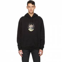 Noon Goons Black Greetings Hoodie NGSS20-060
