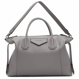 Givenchy Grey Soft Medium Antigona Bag BB50F2B0WD