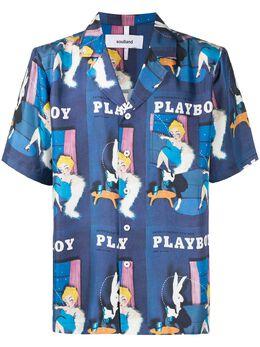 Soulland рубашка Orson Playboy 11721008BLUE