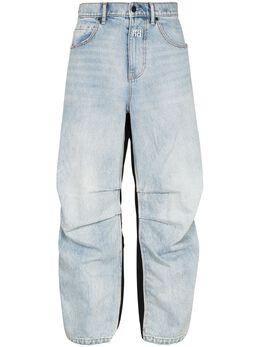 Alexander Wang джинсы Pack Mix Hybrid с контрастными вставками 4DC2194485