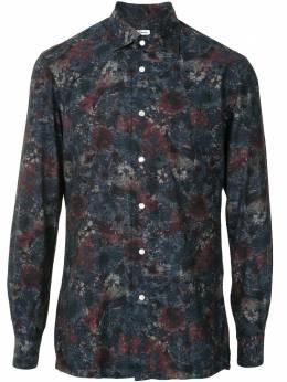 Kiton floral print shirt UMCNERCH07425