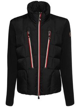 Куртка Из Шерсти И Нейлона Moncler Grenoble 72IL72039-OTk50