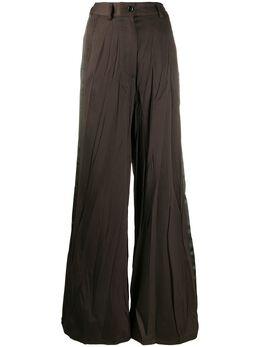 Mm6 Maison Margiela брюки широкого кроя S32KA0623S47848