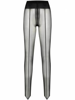 Wolford Control Top back-seam tights 18563